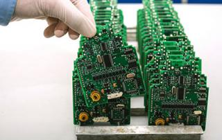 PCB microchip production factory