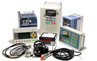Industrial incremental encoders, frequency inverters, and counters