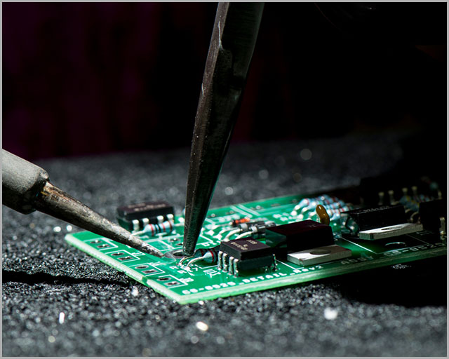 The process of PCB solderability