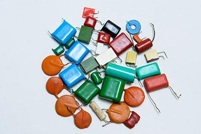 Capacitors made of metals, ceramics, and films