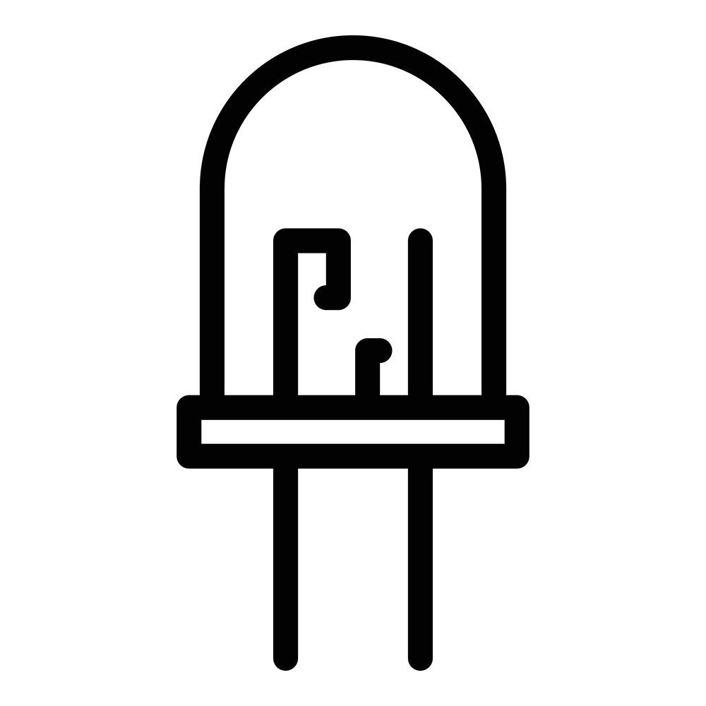 Icon of a terminal diode