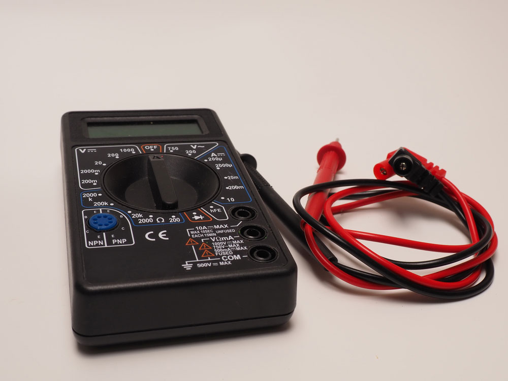 (1)  AVO meter w/ probes