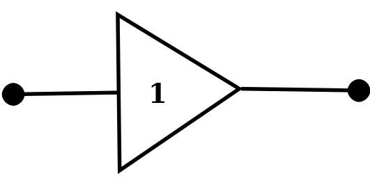 数字缓冲符号