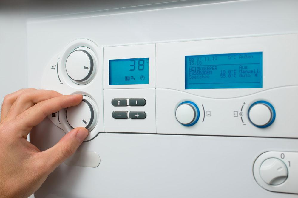 锅炉包含一个数字缓冲器来测量温度