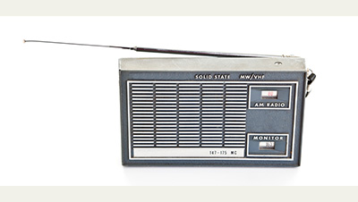 an AM radio