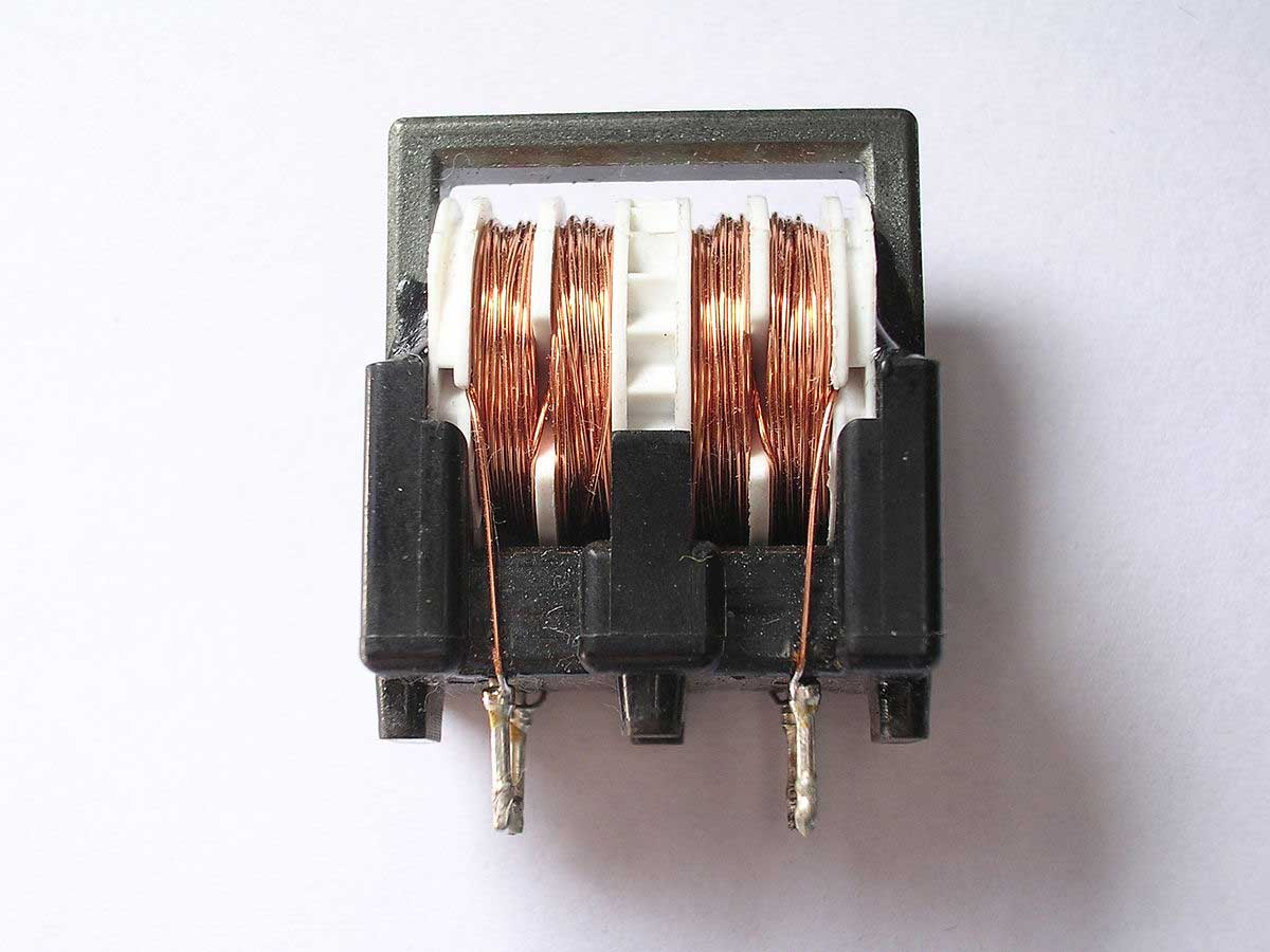 Types of Inductors--Coupled Inductor/Small transformer