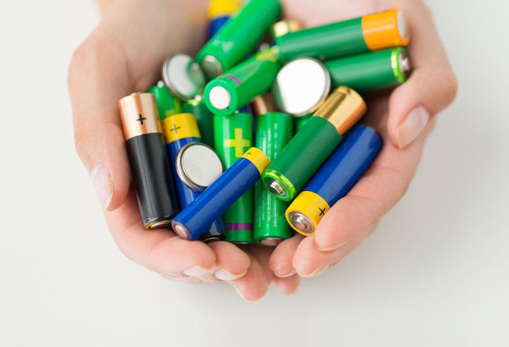 碱性电池图片